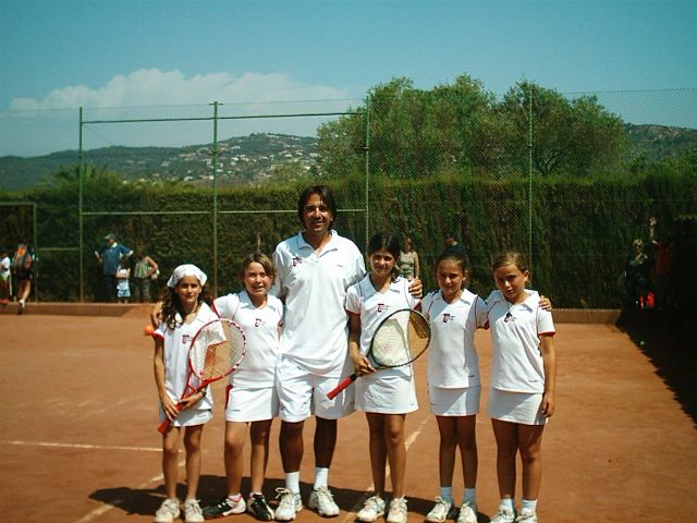 2006 Provincial Team Championships Topten Tennis Girls RUNNER-UP Team 12 & under SILVER DIVISION