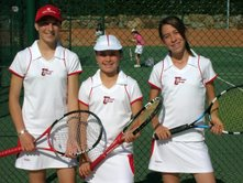 2006 Provincial Team Championships Topten Tennis Girls RUNNER-UP Team 14 & under BRASS DIVISION