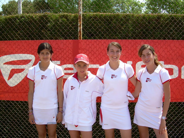 2007 Provincial Team Championships Topten Tennis Girls CHAMPION Team 18 & under SILVER DIVISION