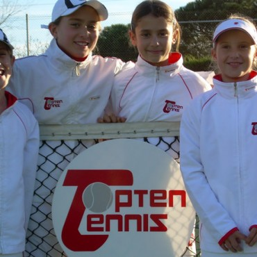 2009 Catalonian Team Championships  Topten Tennis Girls RUNNER UP  Team 12 & Under SILVER DIVISION