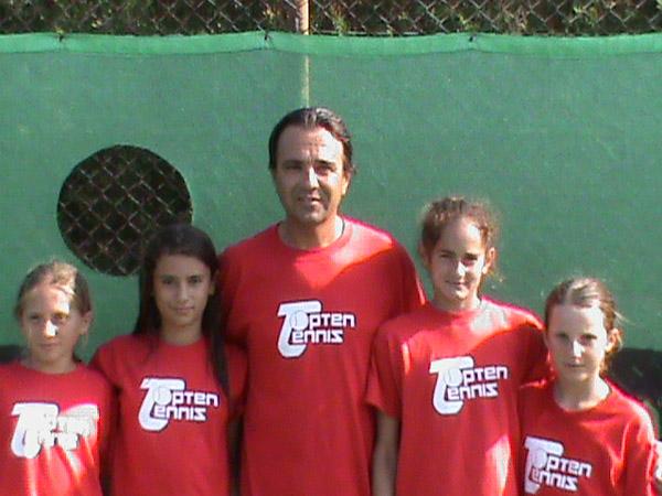 2009 Provincial Team ChampionshipsTopten Tennis Girls CHAMPION Team 14 & Under GOLD DIVISION