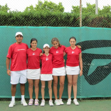 2011 Provincial Team Championships  Topten Tennis Girls CHAMPION Team 14 & Under GOLD DIVISION