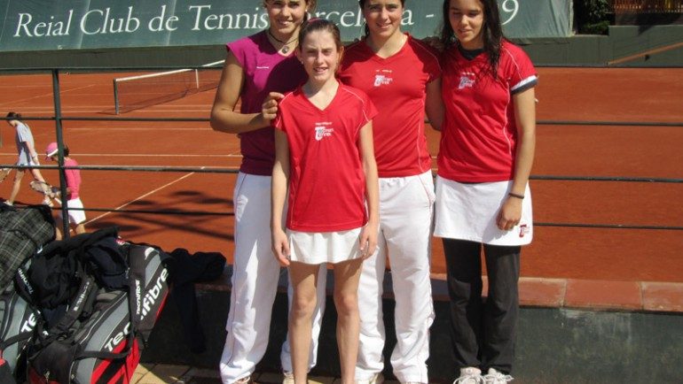 2011 Catalonian Team Championships  Topten Tennis Girls RUNNER-UP Team 14 & Under GOLD DIVISION