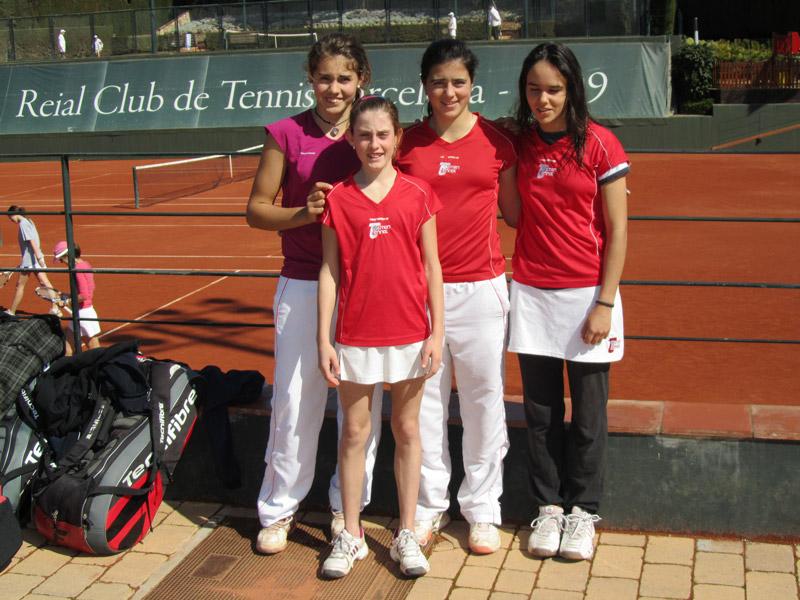 Sub-campeón de Cataluña infantil femenino oro