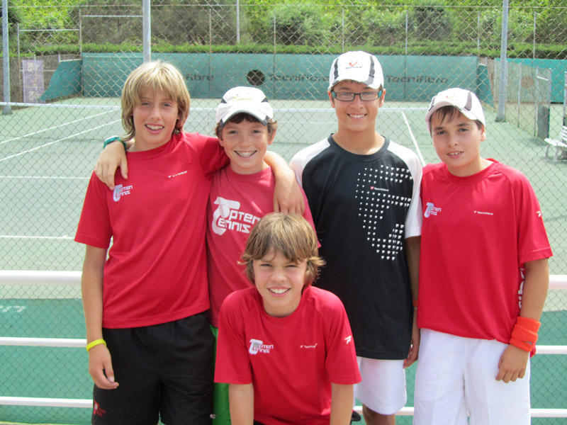 2011 Provincial Team Championships  Topten Tennis Boys CHAMPION Team 14 & Under SILVER DIVISION