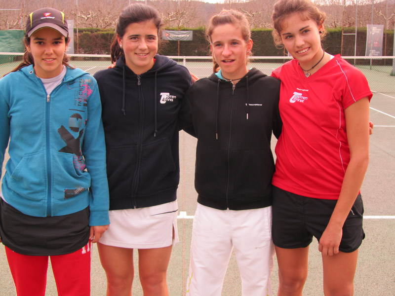 """2011 Provincial Team Championships  Topten Tennis Girls CHAMPION  """"Ladies Open"""" GOLD DIVISION"""