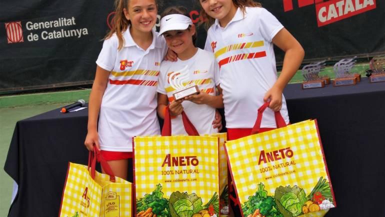 Campeón de Cataluña por equipos comarcales benjamín femenino div.II
