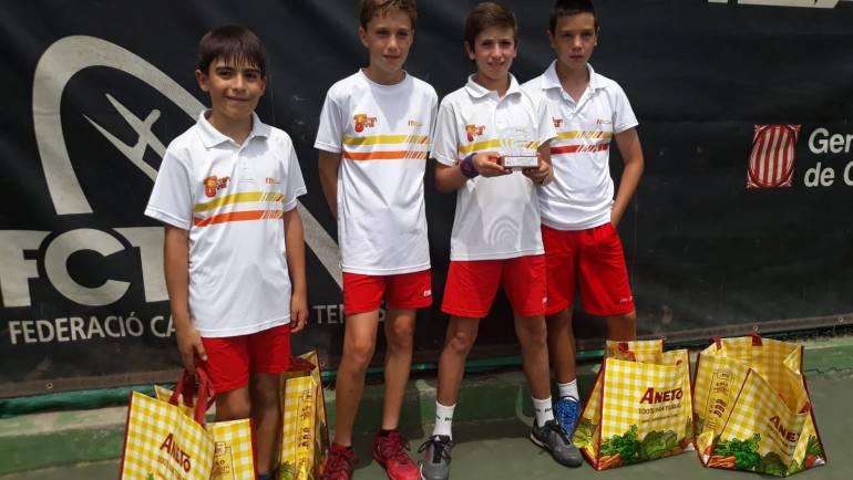 Sub-campeón de Cataluña por equipos comarcales infantil masculino div.I