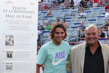 Rafa Nadal and Pierre
