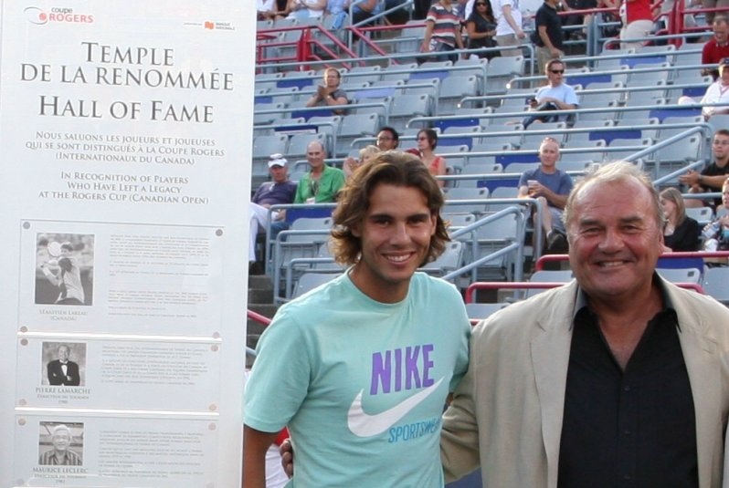 Rafa Nadal and Pierre