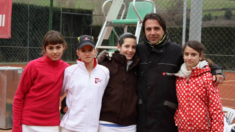 2010 Catalonian Team Championships  Topten Tennis Girls CHAMPION Team 18 & Under SILVER DIVISION