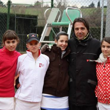 2010 Catalonian Team Championships  Topten Tennis Girls CHAMPION Team 18 & Under SILVER DIVISION