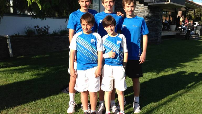 2013 Provincial Team Championships  Topten Tennis Boys RUNNER-UP Team 14 & Under GOLD DIVISION