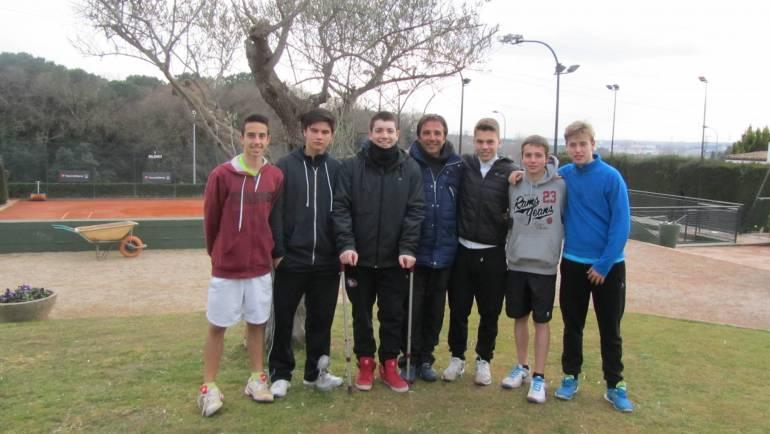 2015 Provincial Team Championships  Topten Tennis Boys RUNNER-UP Team 18 & Under GOLD DIVISION