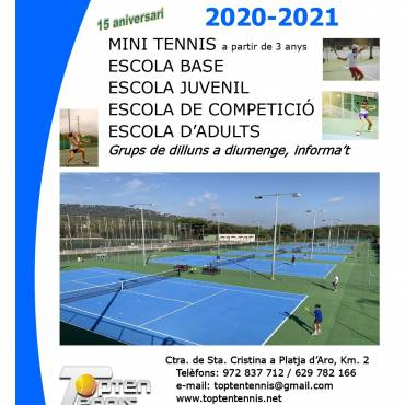 Escola de Tennis 2020-2021