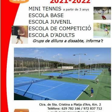 Escuela de Tennis 2021-2022