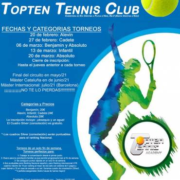 COPA SINCE 90 TOPTEN TENNIS CLUB